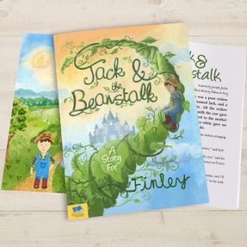 Personalised Jack and the Beanstalk Book - Soft or Hardbacked