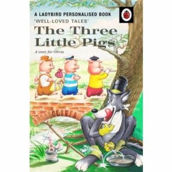 Personalised The Three Little Pigs Book
