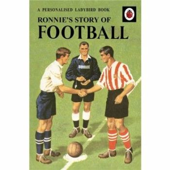 Personalised The Story of Football Book