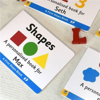 Personalised First Steps SHAPES Book