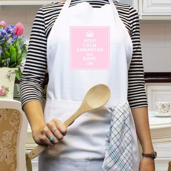 Personalised KEEP CALM APRON
