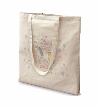 Personalised ALWAYS BE A UNICORN Tote Bag