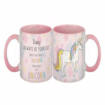 Personalised ALWAYS BE A UNICORN Mug