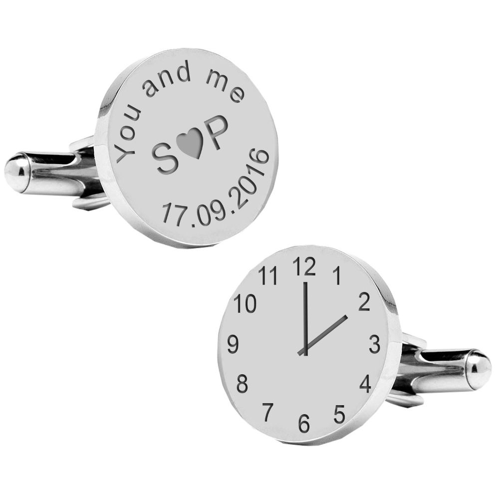 Wedding & Anniversary Cufflinks