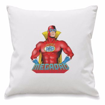 Personalised MEGA DAD Cushion Cover