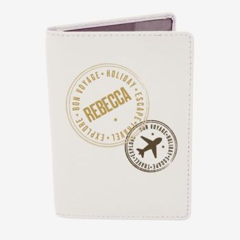 Personalised Passport Cover - Travel Stamp Passport Holder