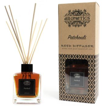 200ml Patchouli Essential Oil Reed Diffuser Room Fragrance