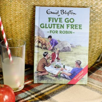 Personalised Enid Blyton FAMOUS FIVE for Grown Ups Book - FIVE Go GLUTEN FREE
