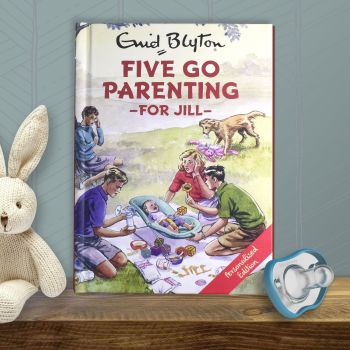 Personalised Enid Blyton FAMOUS FIVE for Grown Ups Book - FIVE GO PARENTING