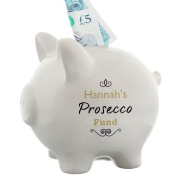 Personalised FUND PIGGY BANK