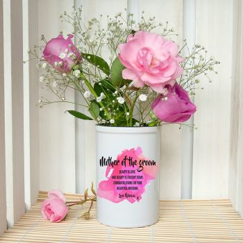 Mother of the Groom Personalised Miniature Champagne Bucket