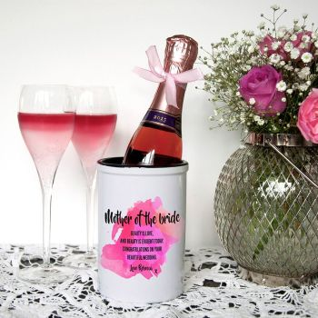 Mother of the Bride Personalised Miniature Champagne Bucket