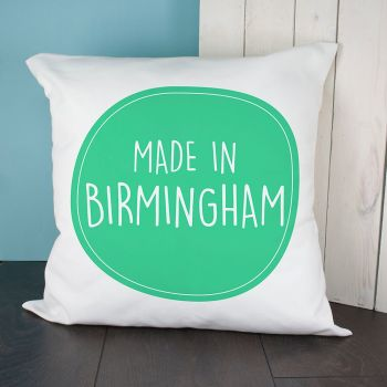 Personalised Made In... Cushion Cover VARIOUS COLOURS