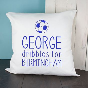 Personalised This Baby Dribbles For Baby Cushion Cover VARIOUS COLOURS