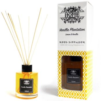 120ml Vanilla Plantation Reed Diffuser Room Fragrance