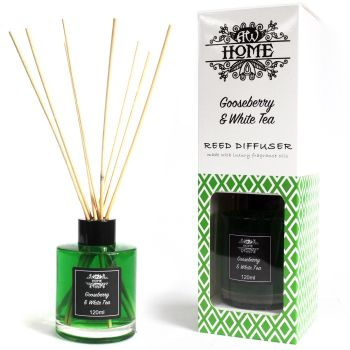 120ml Gooseberry & White Tea Reed Diffuser Room Fragrance