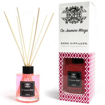 120ml On Jasmine Wings Reed Diffuser Room Fragrance