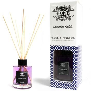 120ml Lavender Fields Reed Diffuser Room Fragrance