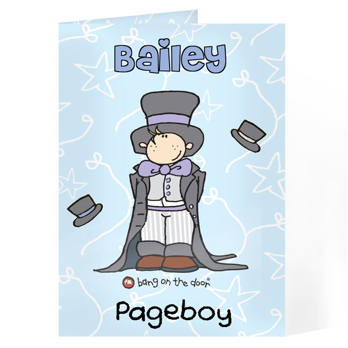 Page Boy Cards