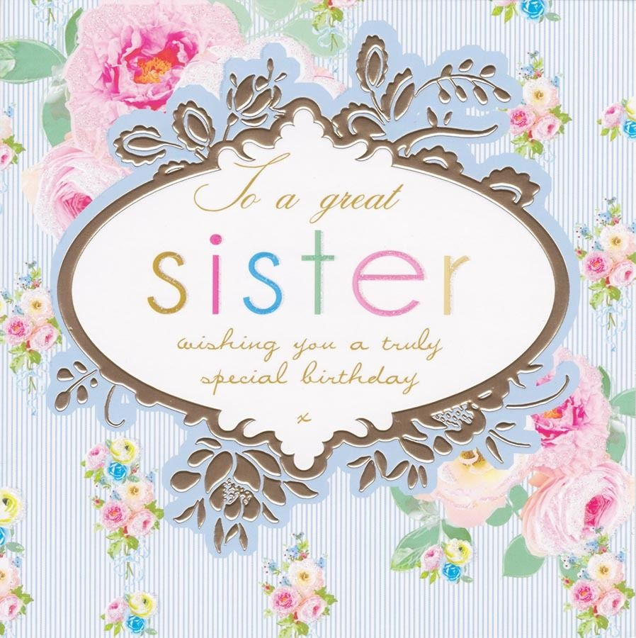 Sister Cards