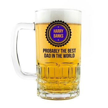 Personalised 'Probably The Best Dad In The World' Tankard
