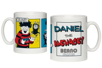 Personalised BEANO Classic Comic Strip WATER PISTOL Mug