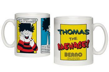 Personalised BEANO Classic Comic Strip PROBLEM SOLVED Mug