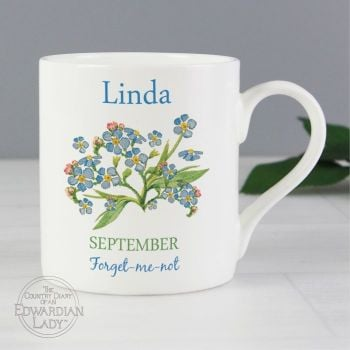 Personalised SEPTEMBER Birthday Monthy Mug