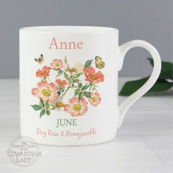 Personalised JUNE Birthday Monthy Mug