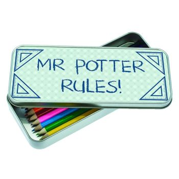 Personalised My Teacher Rules Pencil Case With/Without Pencils
