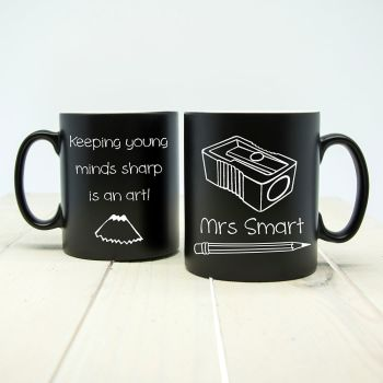 Keeping Young Minds Sharp! Matte Coloured Mug