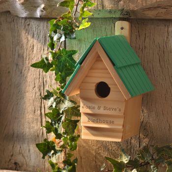 Personalised RHS BIRD HOUSE