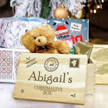 Personalised Large Wooden SPECIAL DELIVERY Keepsake Box