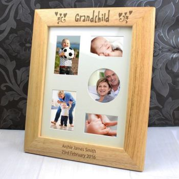 Personalised 10'' x 8'' GRANDCHILD Frame