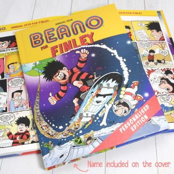 Personalised BEANO 2018 ANNUAL