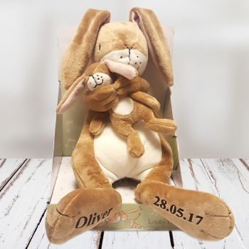 Personalised GUESS HOW MUCH I LOVE YOU LULLABY HARE