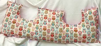 Handmade Double Mastectomy Pillow / Mastectomy Cushion