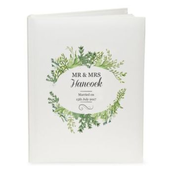 Personalised BOTANICAL PHOTO ALBUM