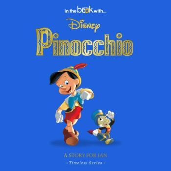 Personalised Disney's PINOCCHIO Book