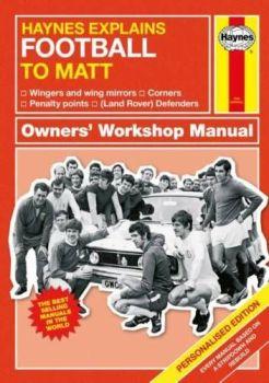 Personalised HAYNES EXPLAINS FOOTBALL Book - Football Fan Funny Football Book