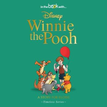 Personalised Disney's WINNIE THE POOH Book