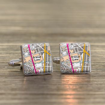 SHEFFIELD UTD Football Ground Cufflinks - Bramall Lane