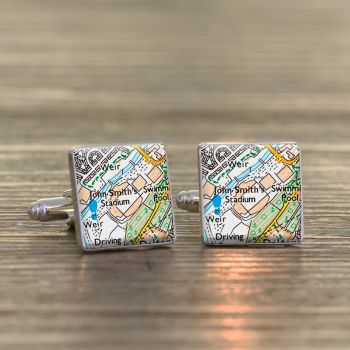 HUDDERSFIELD Football Ground Cufflinks - John Smith's Stadium