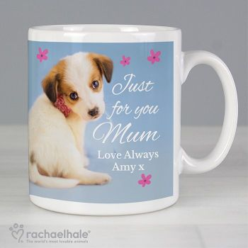 Personalised Rachael Hale Puppy Mug
