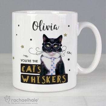 Personalised Rachael Hale You're The Cats Whiskers Mug