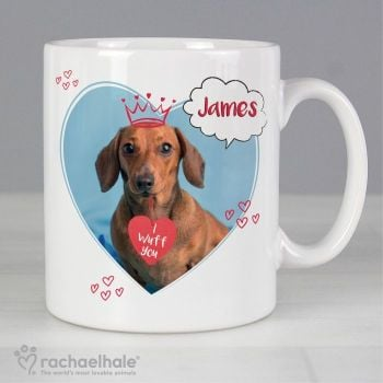 Personalised Rachael Hale I Wuff You Mug