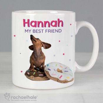 Personalised Rachael Hale I Donut How Mug