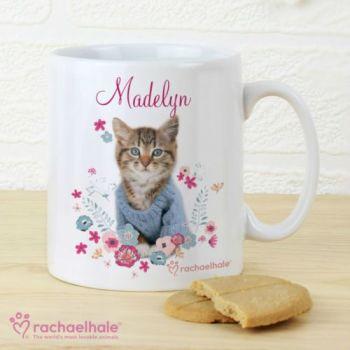 Personalised Rachael Hale Kitten Mug