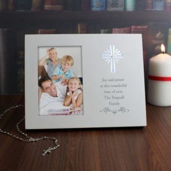 Personalised Sentiments 6x4 Light Up Frame