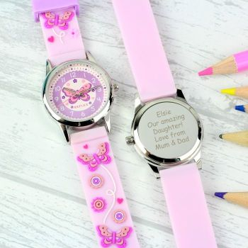 Personalised Kids Time Teacher Watch